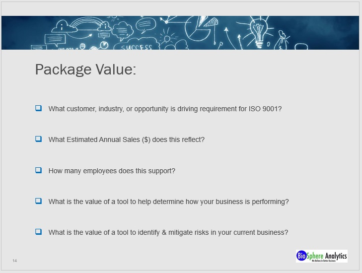 PPT - Packages Value